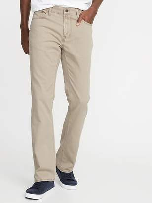 Old Navy Twill Five-Pocket Boot-Cut Pants for Men