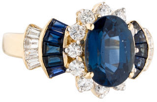 Le Vian 18K Sapphire & Diamond Tiered Ring $3,775 thestylecure.com