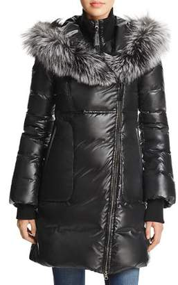 Mackage Lizette Fox Fur Trim Down Coat - 100% Exclusive