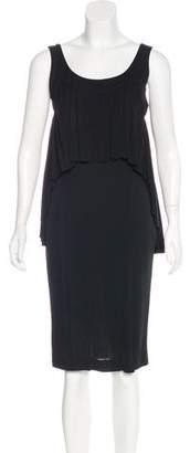 Narciso Rodriguez Draped Knee-Length Dress
