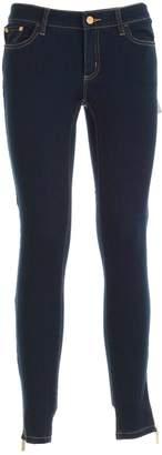 MICHAEL Michael Kors Logo Plaque Jeans