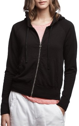 Women's James Perse Classic Zip Hoodie $195 thestylecure.com
