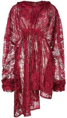 DAY Birger et Mikkelsen Barbara Bologna lace oversized hooded dress