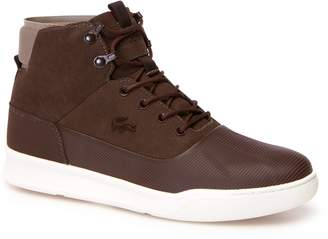 Lacoste Mens Explorateur Hydro Leather Boots