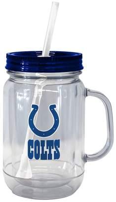 Boelter Brands Indianapolis Colts 20-Ounce Plastic Mason Jar Tumbler