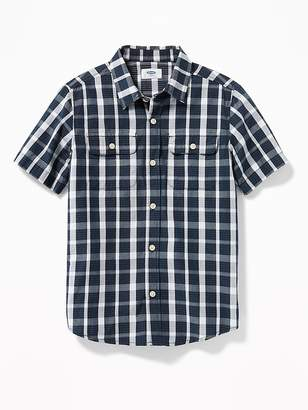 Old Navy Patterned Double-Pocket Shirt for Boys