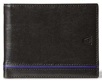 Leather Architect Men's 100% Leather RFID Blocking Classic Bifold Wallet