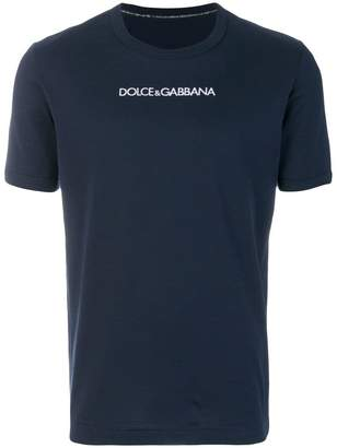 Dolce & Gabbana chest slogan T-shirt
