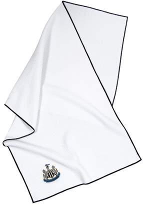 Newcastle United Team Effort FC Waffle-Weave Microfiber Golf Towel