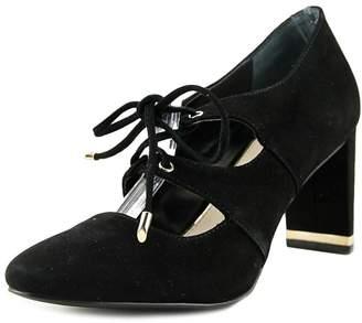 Alfani Womens BINDDI Leather Closed Toe Classic Pumps