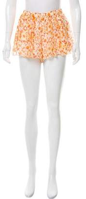 Caroline Constas Silk Mini Shorts w/ Tags