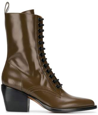 Chloé 60 lace-up boots
