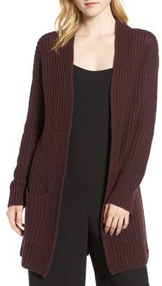 Trouve Trouv? Lace-Up Back Cardigan