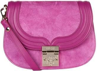 MCM Suede Trisha Shoulder Bag