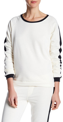 Alternative Long Sleeve Stripe Pullover $54 thestylecure.com