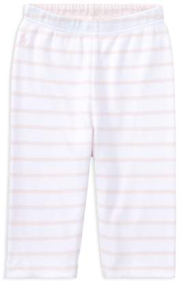 Ralph Lauren Girls' Reversible Cotton Pants - Baby