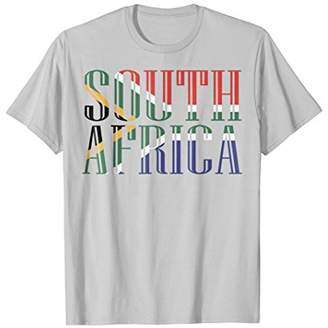 Flag of South Africa T-shirt Tee Tees T Shirt Tshirt