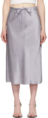 Alexander Wang Purple Wash and Go Skirt