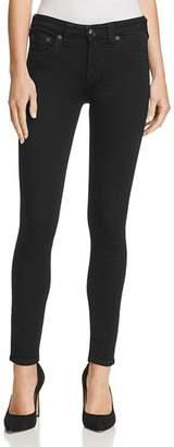 True Religion Jennie Curvy Skinny Jeans in Way Back Black