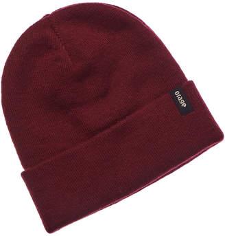 Orage Collie Red Wool-Blend Beanie