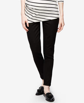 DL1961 Maternity Black Wash Skinny Jeans