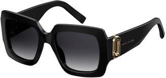 Marc Jacobs Chunky Square Acetate Sunglasses