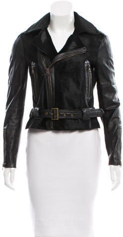 Rebecca MinkoffRebecca Minkoff Ponyhair Leather Jacket