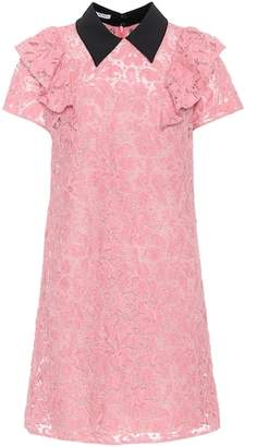 Miu Miu Cotton-blend lace dress
