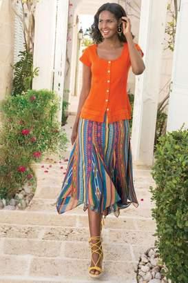 Soft Surroundings Fantasia Skirt
