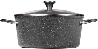 "The Rock By Starfrit 818549020768 The Rock Basic Set 7.2 Qt Stock Pot W/lid,12"" Fry Pan & 10"" Bakeware"
