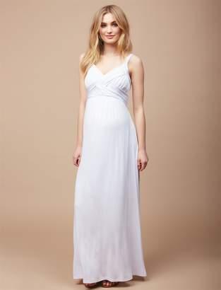 Motherhood Maternity Petite Cross Front Maternity Maxi Dress