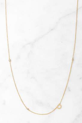 Tai Gold Alphabet Necklace D