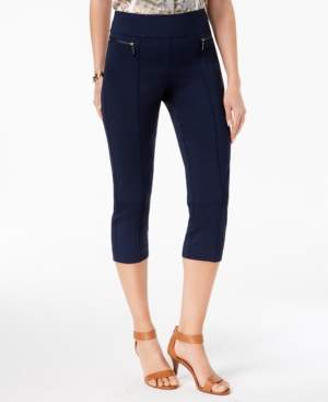 Style&Co. Style & Co Pull-On Cropped Pants, Created for Macy's