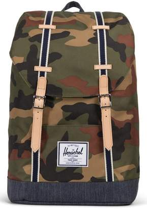 Herschel Retreat Offset Denim Backpack