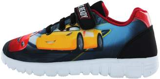 Disney Pixar Cars Race Ready Lightning McQueen Navy Trainers UK Size 6