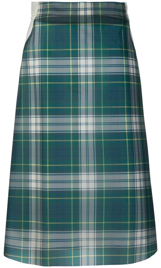 Burberry house check skirt