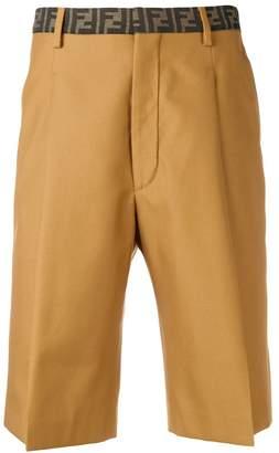 Fendi FF waistband shorts