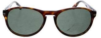 Persol Round Polarized Sunglasses