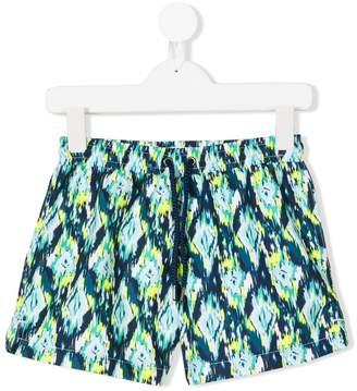 Trunks Sunuva Ikat neon swim shorts