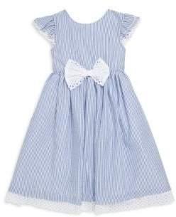 Little Girl's Stripe Seersucker Dress