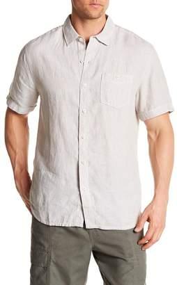 Tommy Bahama Party Breezer Linen Short Sleeve Modern Fit Shirt
