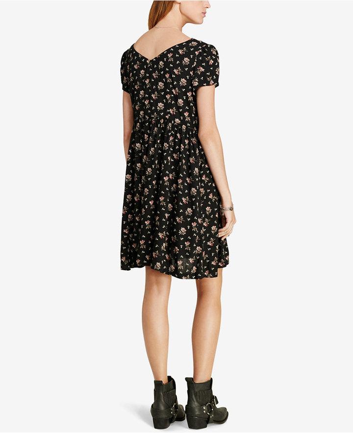 Denim & Supply Ralph Lauren Floral-Print Button-Front Dress 5