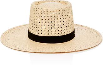 Janessa Leone Maxime Telescope Panama Straw Hat
