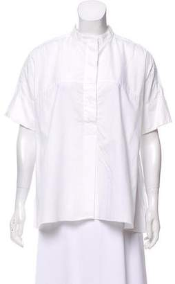Ter Et Bantine Short Sleeve Button-Up Top