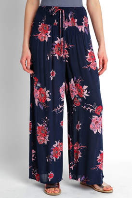 Patrons Of Peace Floral Wide Leg Pant