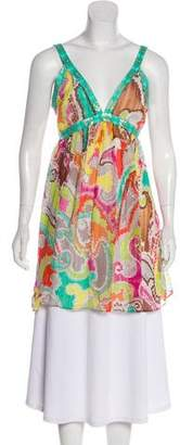 Milly Printed Silk Tunic