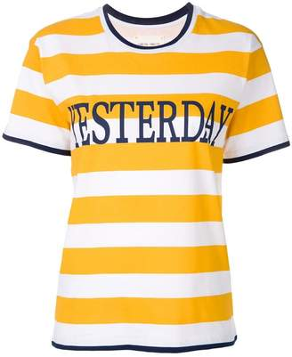 Alberta Ferretti striped T-shirt