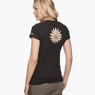 James Perse ANTES GRAPHIC V-NECK TEE
