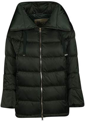 Herno (ヘルノ) - Herno Cropped Sleeve Padded Jacket