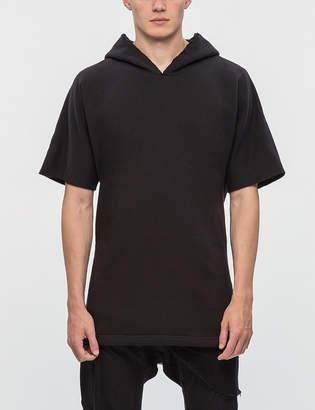 Thom/krom Hooded Double Layer Sweatshirt